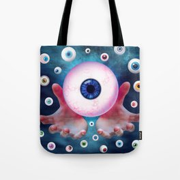 Watching You by GEN Z Tote Bag