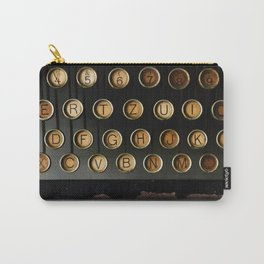 Vintage Typewriter (Color) Carry-All Pouch