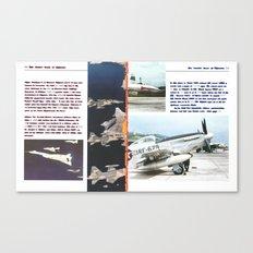 Planes # 12 Canvas Print