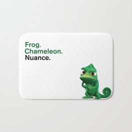 Nuance - Tangled - White Bath Mat