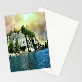 Golden Sky Over the Mountain - Mohonk Stationery Cards