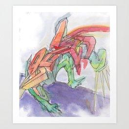 Gmolk '00 Art Print