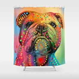 animals dogs Shower Curtain