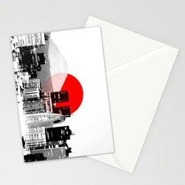 Modern Japan - Tokyo - Shinjuku Stationery Cards