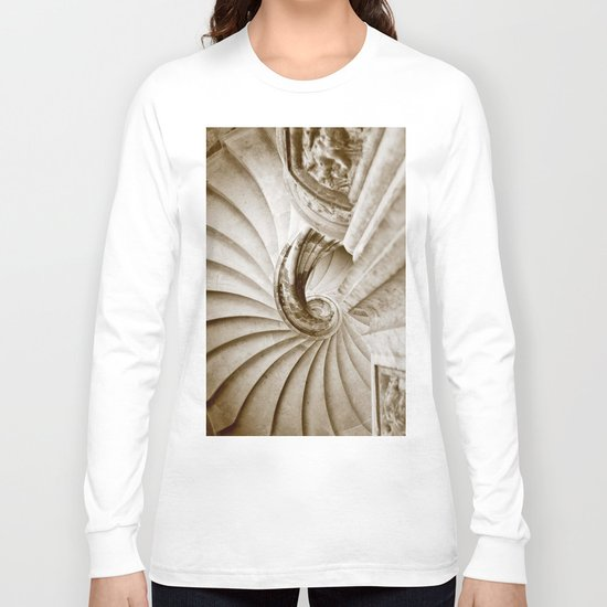 Sand stone spiral staircase 16 Long Sleeve T-shirt