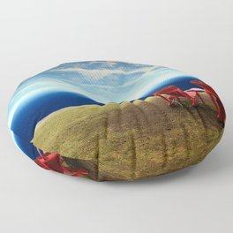 Natural Space Floor Pillow
