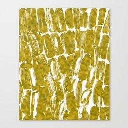 Gold Sugarcane Canvas Print