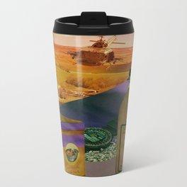 The Smug Dolphin Company Advert Metal Travel Mug