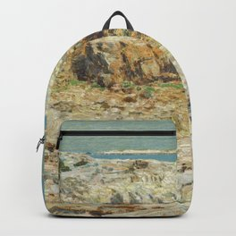 Childe Hassam A North East Headland 1901 Painting Backpack