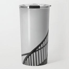 Spiral Stairwell going up Travel Mug