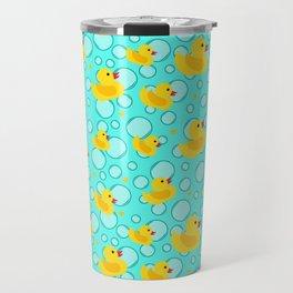 Rubber Ducks and Bathtime Bubbles Travel Mug