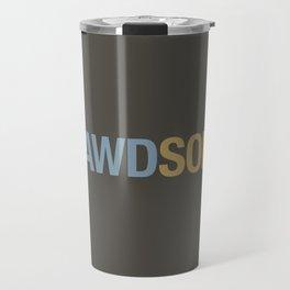 AWDSOME v7 HQvector Travel Mug