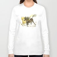 horses Long Sleeve T-shirts featuring Horses by JoJo Seames