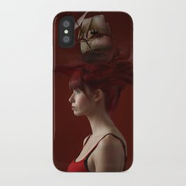 Sailing - Red iPhone Case
