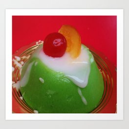 cassata eat food Art Print