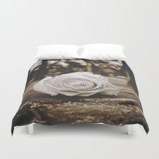 Symbolic rose Duvet Cover