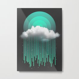 Rainy Daze Metal Print