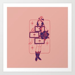 THE GRAND REPETITION Art Print