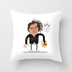 Kingpin Throw Pillow