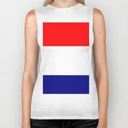Flag of Netherlands 2 -pays bas, holland,Dutch,Nederland,Amsterdam, rembrandt,vermeer. Biker Tank