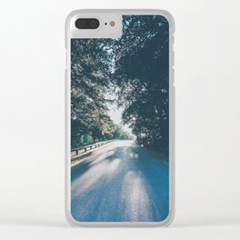 Road to the Light Clear iPhone Case
