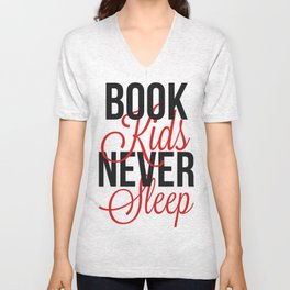 Book Kids Unisex V-Neck
