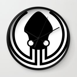 gitkraken git developer octopus satanic web developer programming stickers Wall Clock