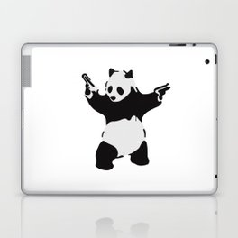 Banksy Pandamonium Armed Panda Artwork, Pandemonium Street Art, Design For Posters, Prints, Tshirts Laptop & iPad Skin
