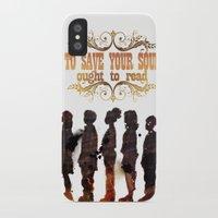 read iPhone & iPod Cases featuring Read by Ƃuıuǝddɐɥ-sı-plɹoʍ-ɹǝɥʇouɐ