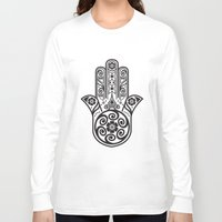 morocco Long Sleeve T-shirts featuring Morocco Postcard by Patrick Behan