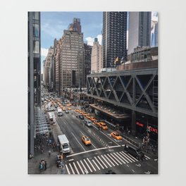 42nd Street Afternoon Canvas Print