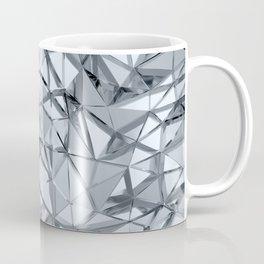 Geometric three dimensional golden metal background Coffee Mug