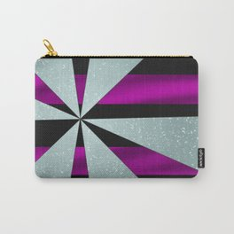 4Shades Glass: Purple Black Carry-All Pouch