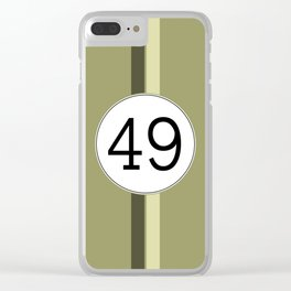 Rally 49 Clear iPhone Case