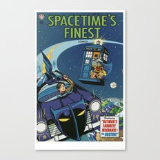 Spacetime's Finest No. 1 Canvas Print