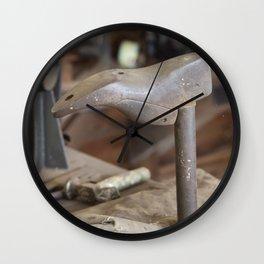 Cobblers Anvil Wall Clock