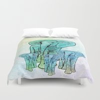 family Duvet Covers featuring Family by Veronica Ventress