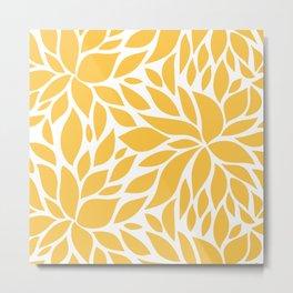 Bloom - Butterscotch Metal Print
