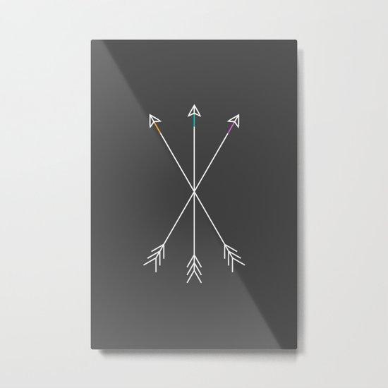 Killers (Gray) Metal Print
