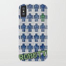 Robotto! iPhone Case