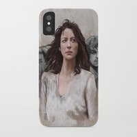 outlander iPhone & iPod Cases featuring Outlander by Gabriella McGregor