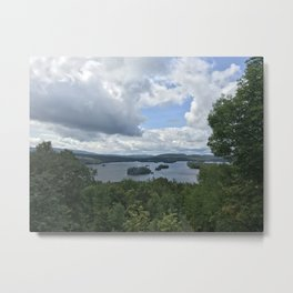Adirondack Lake Metal Print