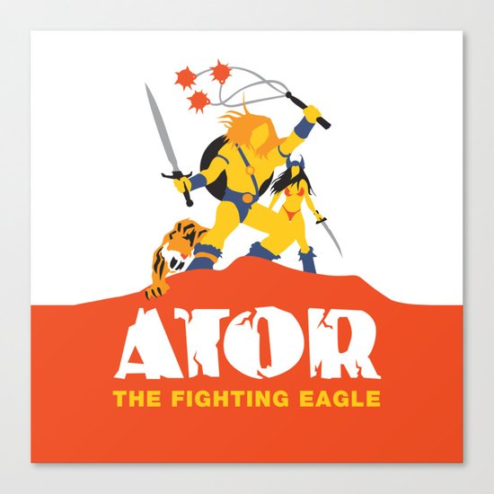 Ator: The Fighting Eagle Canvas Print