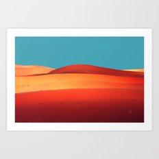 sensual desert  Art Print