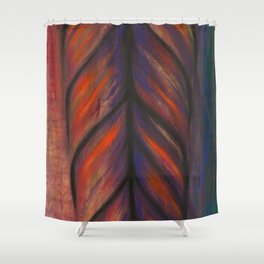 Feather Tribe Shower Curtain