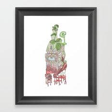 end of sum Framed Art Print