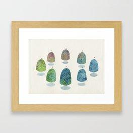 mountain reunion Framed Art Print