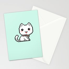 pixelcat Stationery Cards