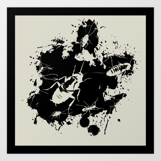 Buggz Art Print