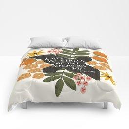 I Am No Bird Jane Eyre Quote Comforters